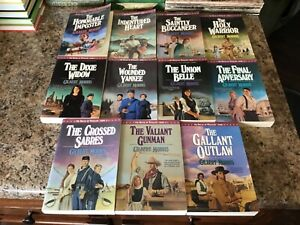 """Lot of 11 """"The House of Winslow"""" Paperback Novels by Gilbert Morris """"Pre-Owned"""""""