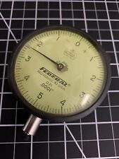 New Listingfederal Dial Bore Large Face Gage Indicator 0001 Replacement Dial Yellow D21