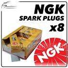 8x NGK SPARK PLUGS Part Number LFR6A Stock No. 6668 New Genuine NGK SPARKPLUGS