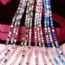 10Yard Colorful Crystal Rhinestone Close Cup Chain Trim Claw Chain Jewelry Craft