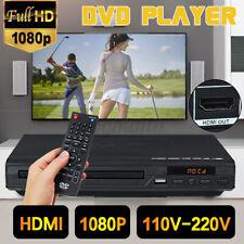 1080P HD DVD Player Automatisch CD Spieler USB HDMI Video mit Fernbedienung Haus