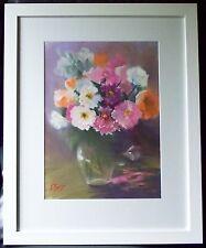 Original Australian Flower Pastel Painting by Margaret Trist