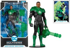 "McFarlane Toys DC Multiverse Modern Comic Green Lantern (John Stewart) 7"" Figure"