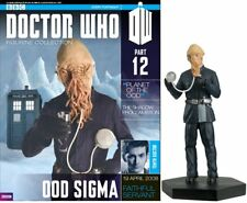Doctor Who Figurine Collection #Part 12 OOD SIGMA #AA30