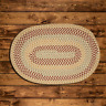 BROOK FARM TEA STAINED BRAIDED AREA RUG & RUNNER By COLONIAL MILLS. MANY SIZES!