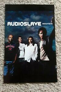 "Audioslave Revelations Promotional album Poster 2006 11""×16"" NICE CONDITION!"