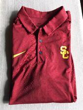 Nike Team SC Trojans Polo Shirt Mens XL NWT $60