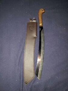Condor Tool & Knife Duku Parang Machete CTK425-16HC - 1075 Blade - Sheath