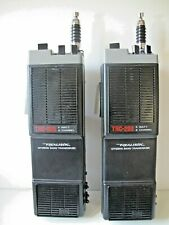 "Two (2) ""Working""  Vtg Realistic TRC-208A CB Walkie-Talkies 5 Watt 6 Channel-GC"