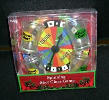 Adult Spinning Shot Glass Game