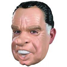 Richard Nixon Mask Adult Presdient Costume Halloween Fancy Dress