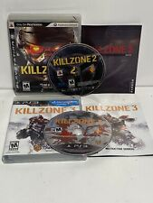 Killzone 2 and 3 Bundle Lot Set (Sony PlayStation 3, PS3) Complete CIB