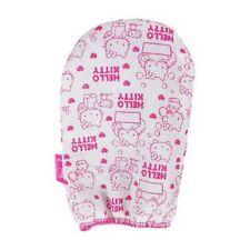 Hello Kitty Korean Italy Towel Exfoliating Bath Washcloth Body Scrubber Glove