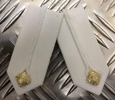 Genuine British No1 RMAS Sandhurst Academy SGC  Gorget Collar / Tabs - NEW