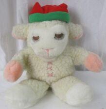 Baby Lambchop Hand Puppet with Stocking Cap Sheri Lewis Lamb Chop Christmas Hat