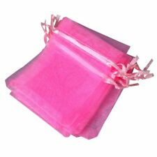 10 PCS 7x9cm Organza Jewelry Candy Gift Pouch Bags Wedding Xmas Favors P O6S7