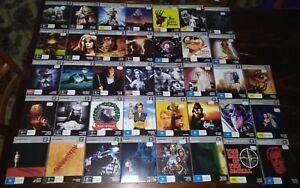 *NEW & SEALED* Cinema Cult Blu Ray Movies: Horror / Thriller & More Region B AUS