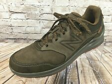 NEW BALANCE MW3000 Walking Shoes Men's 12 D Brown Leather Made in USA