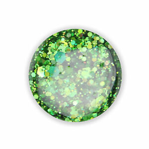 Nail Art, UV Gel, Crystal Crush Glitter Gel green crystal crush, 5ml (GFCU-06)