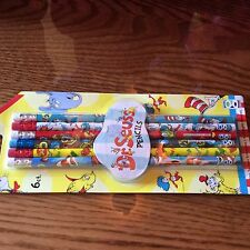 Dr. Seuss pencils pack of 6. New! Sealed!