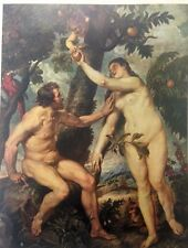 Adam and Eve By Peter Rubens