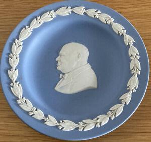 Wedgewood, Vintage Blue Dish Winston Churchill, 11cm,