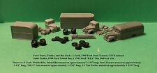 1939-42 FORD TRUCK & BUS PACK 2 - N SCALE - FNS
