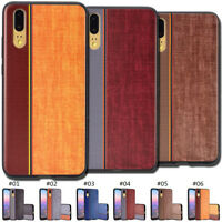 Clear Fashion Case Cover Soft TPU Painted Back Shockproof Slim Skin For Huawei