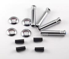 4x Car Door Pin Lock Knobs For BMW 1 3 5 7 M X Z series Alpina Hamann Hartge AC