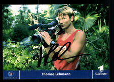 Thomas lehmann todoterreno TV autografiada mapa original firmado # bc 45091