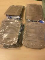 LOT OF 4  SOPAKCO MRE Emergency Ready to Eat 09/20 Inspect Date REDUCED SODIUM