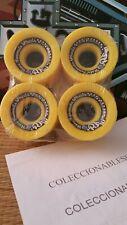 NEW  70mm  78a, Sector 9 Race Formula Yellow Longboard Wheels FREE SHIPPING