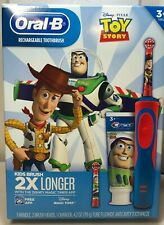Oral-B Toy Story Rechargeable Electric Toothbrush 2 heads timer NEW Sealed box