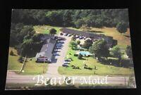Beaver Motel Postcard  Kingston Ontario