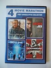 4-Movie Marathon: Post-Apocalyptic Collection DVD 2016 2-Disc Set