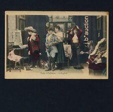 BACKSTAGE PARIS CABARET L'AIGLON TOPLESS WOMEN DRESSING * Vintage 1900s PC