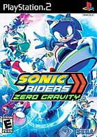 Sonic Riders: Zero Gravity (Sony PlayStation 2, 2008) Complete