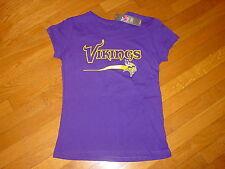 Official TEAM NFL Minnesota VIKINGS cap sleeve Womens T-Shirt  NWT sz.... XLarge