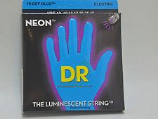 DR Luce Nera Corde the luminescent String Blue nbe-10 completamente frase 6 saitig