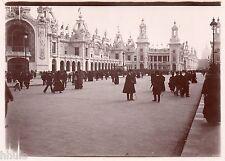 A423 Photo Citrate Original Expo Universelle Paris 1900 Vue palais céramique