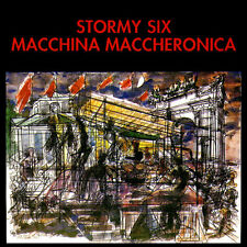 STORMY SIX Macchina Maccheronica CD italian prog