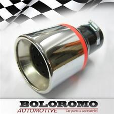 New Exhaust Tip Muffler Pipe Tail Chrome Fits Toyota Auris Corolla Avensis Aygo
