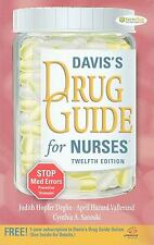 Davis's Drug Guide for Nurses by April Vallerand, Cynthia Sanoski and Judith...