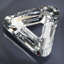 "Large Authentic SWAROVSKI Crystal Cosmic TRIANGLE ~ 30mm (1 3/16"") ~ Stock #4737"