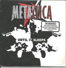 METALLICA Until It Sleeps LIVE & RARE TRK 3TRX AUSTRALIA CARD SLEEVE CD single