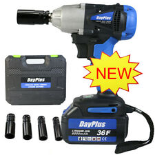 6000mAh Battery 1/2'' Electric Cordless Impact Wrench Drill High Torque Tool NEW