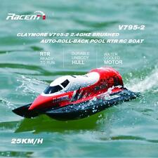 Volantex CLAYMORE V795-2 2.4G Brushed High Speed Auto-roll-back RC Boat NEW A3L0