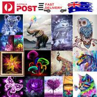 5D DIY Full/Partial Diamond Painting Drill Embroidery Kit Art Cross Stitch Decor