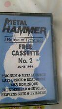 METAL HAMMER HOUSE OF HAMMER METAL COMPILATION CASSETTE ULTRA RARE 1991