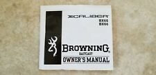 New listing Browning Xcaliber Bx65 and Bx66 Baitcast Reel Owner's Manual (and box)